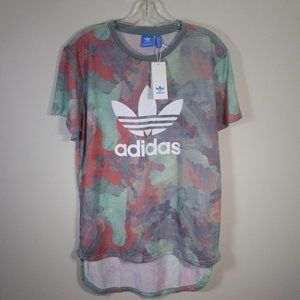 New Adidas colorful PASTEL BF T shirt